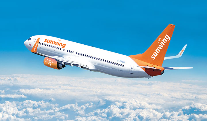 Sunwing announces direct flights from Vancouver