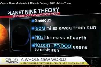 Did CBS just warn us about Nibiru?